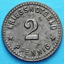 Германия 2 пфеннига 1918. Нотгельд Гота.
