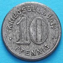 Германия 10 пфеннигов 1917. Нотгельд Эльберфельд