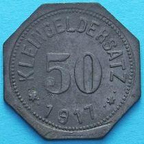Германия 50 пфеннигов 1917 год. Нотгельд Айслебен.