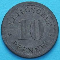 Германия 10 пфеннигов 1917-1920. Нотгельд Верден.