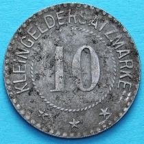 Германия 10 пфеннигов 1917-1920 год. Нотгельд Заальфельд.