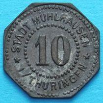 Германия 10 пфеннигов 1917 год. Нотгельд Мюльхаузен.