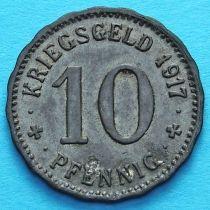 Германия 10 пфеннигов 1917 год. Нотгельд Хаген.