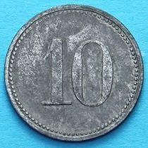 Германия 10 пфеннигов 1917 год. Нотгельд Херсбрук.