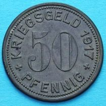 Германия 50 пфеннигов 1917 год. Нотгельд Меттман.