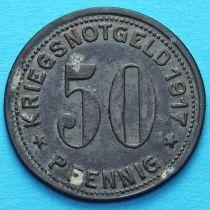 Германия 50 пфеннигов 1917 год. Нотгельд Гуммерсбах.