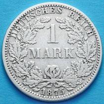 Германия 1 марка 1875 год. Серебро. А.