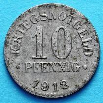 Германия 10 пфеннигов 1918 год. Нотгельд Брауншвейг. №2