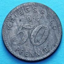 Германия 50 пфеннигов 1917 год. Нотгельд Бармен.