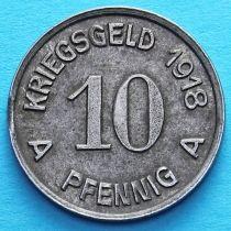 Германия 10 пфеннигов 1918 год. Нотгельд Люденшайд.