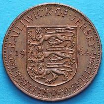Джерси 1/12 шиллинга 1957, 1964 год.
