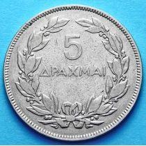 Греция 5 драхм 1930 год. Феникс.