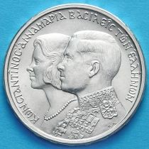 Греция 30 драхм 1964 год. Королевская свадьба. Серебро. В.