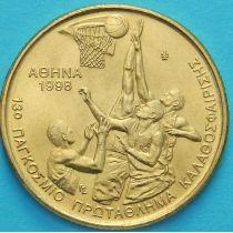 Греция 100 драхм 1998 год. Баскетбол.