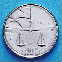Сан Марино 100 лир 1990 год. Чаша равновесия.