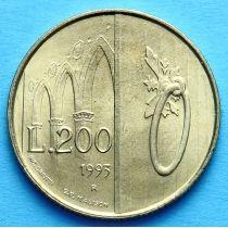 Сан Марино 200 лир 1993 год. Сан Франческо.