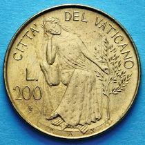 Ватикан 200 лир 1979 год.
