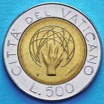Ватикан 500 лир 1983 год. Создание Вселенной.