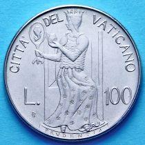 Ватикан 100 лир 1979 год. Благоразумие.