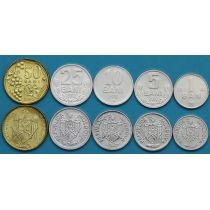 Лот 10 штук. Молдова набор 5 монет 2003-2017 год.