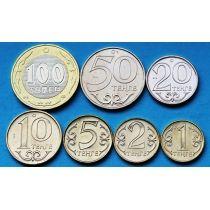 Казахстан набор 7 монет 2002-2012 год