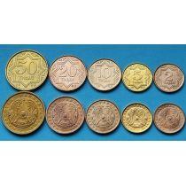 Казахстан набор 5 монет 1993 год.