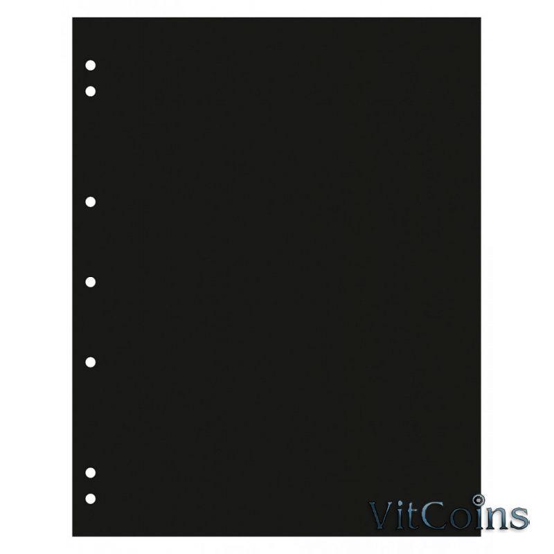Лист разделительный, черный, формат Оптима. Упаковка 10 шт.