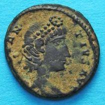 Констанций II, фоллис 337-342 год. Римская империя,
