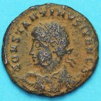 Констанций II фоллис  324-329 год. Римская империя,