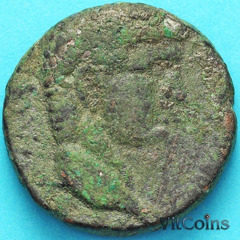 Монета Рим, провинция Сирия, асс, Клавдий 41-54 год. №1