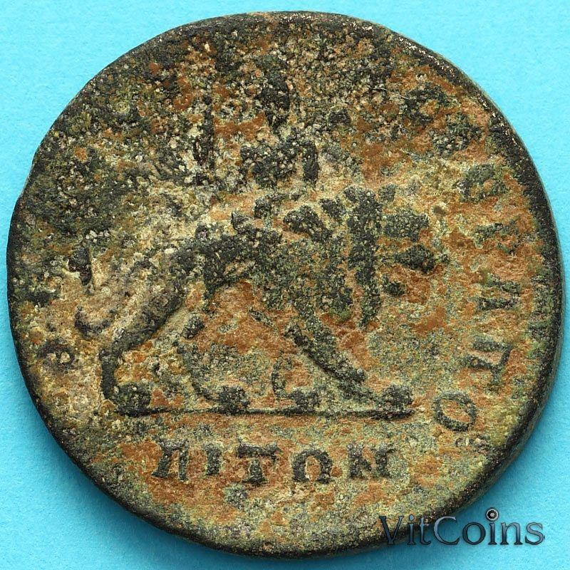 Монета Рим, провинция Сирия, Филипп I Араб 244-247 год. Иераполис.