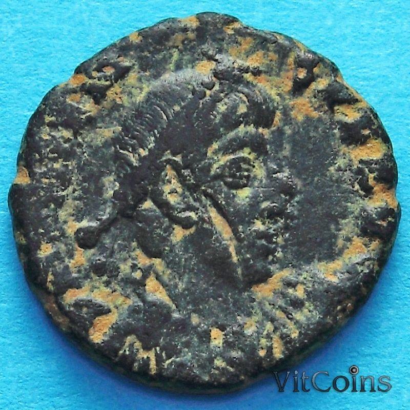 Монета Римская империя, Валент, фоллис 364-378 год. №2