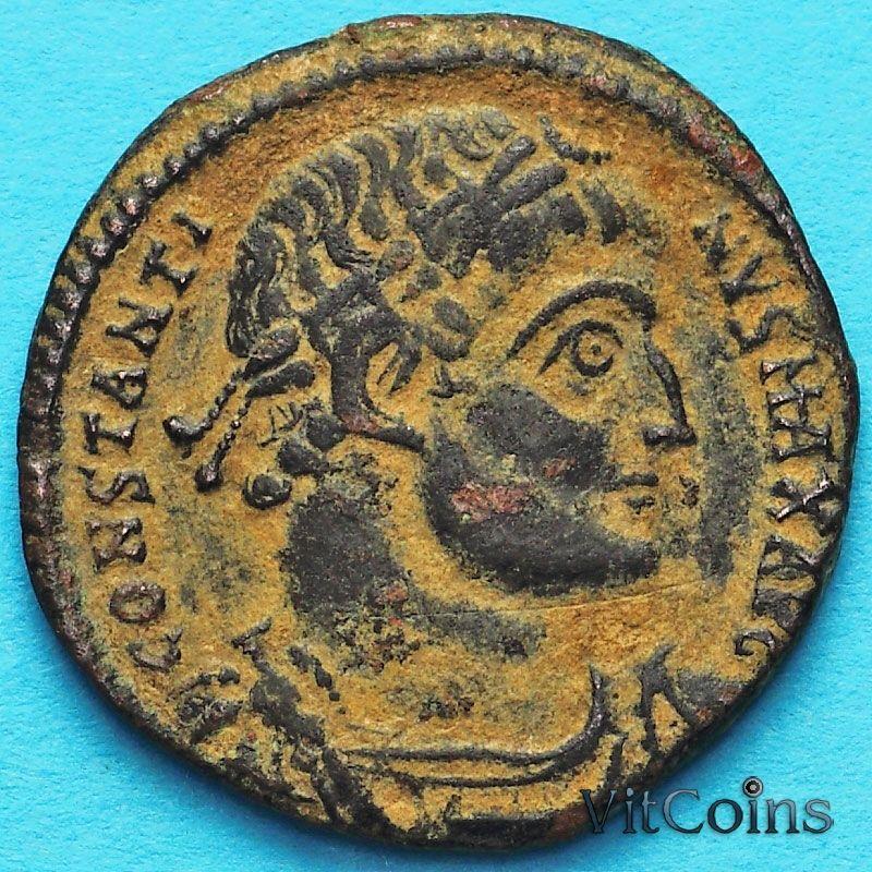 Монета Римская империя, фоллис Константин I Великий 330-336 год. №2