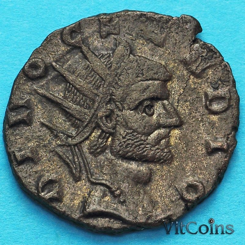 Монета Римская империя,  посмертный антониниан, Клавдий II Готский 268-270 год. №2