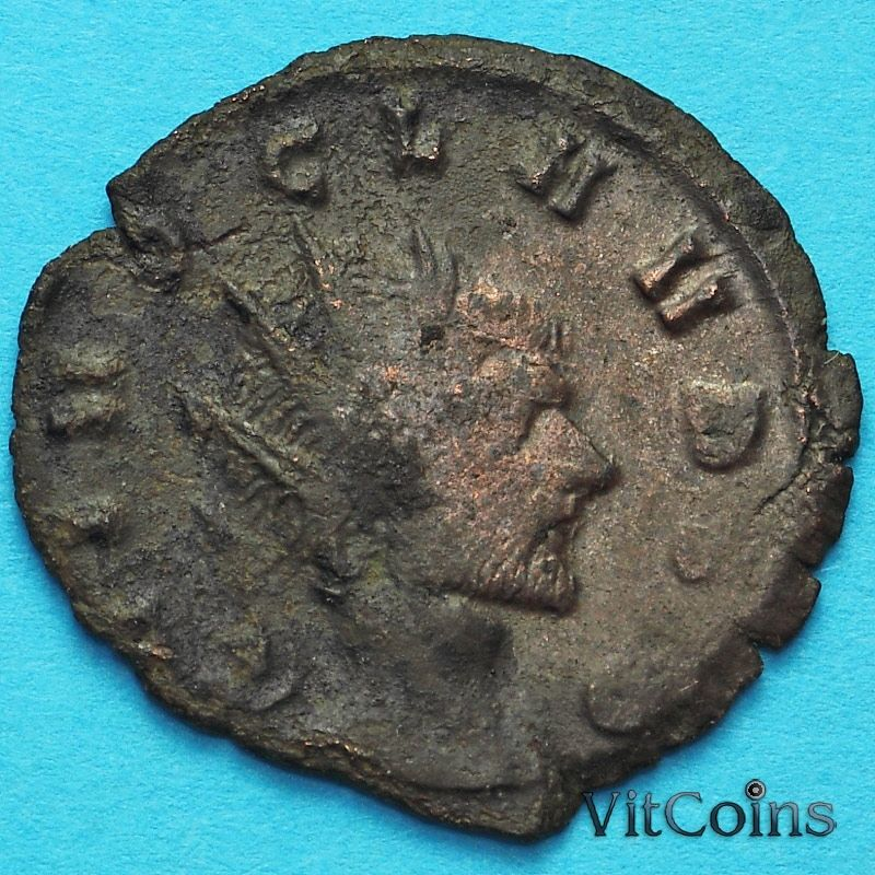 Монета Римская империя, антониниан, Клавдий II Готский 268-270 год. №6