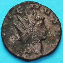 Галлиен,  антониниан, 260-268 год. Абунданция. Римская империя,
