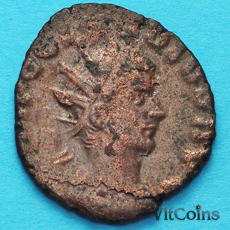 Монета Римская империя, Галлиен,  антониниан, 260-268 год. Провиденция. №3
