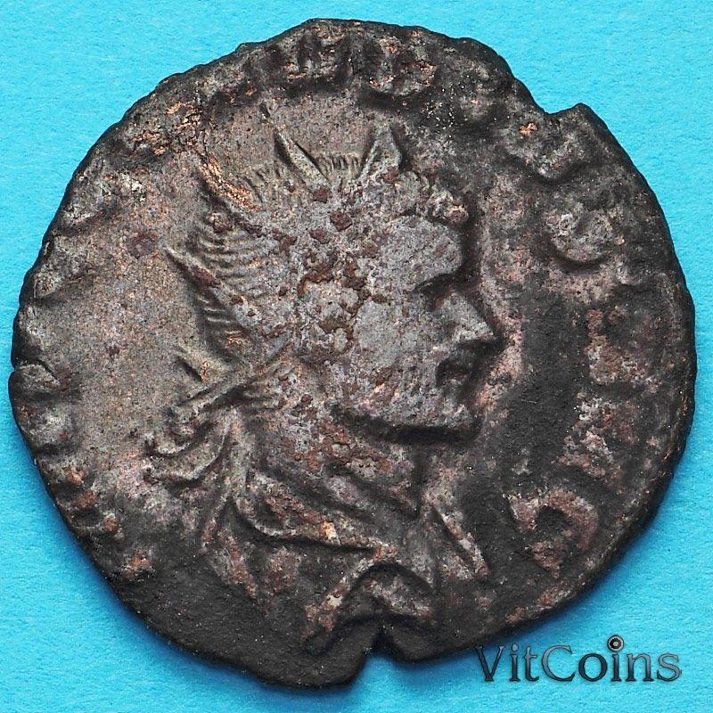Монета Римская империя, Клавдий II Готский антониниан 268-270 год. Юпитер.
