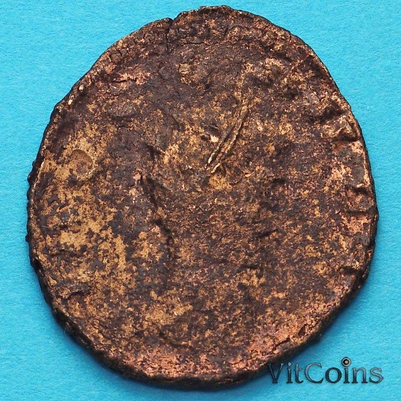 Монета Римская империя,  посмертный антониниан, Клавдий II Готский 268-270 год. №3