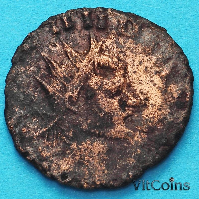 Монета Римская империя, Галлиен,  антониниан, 260-268 год. Провиденция.