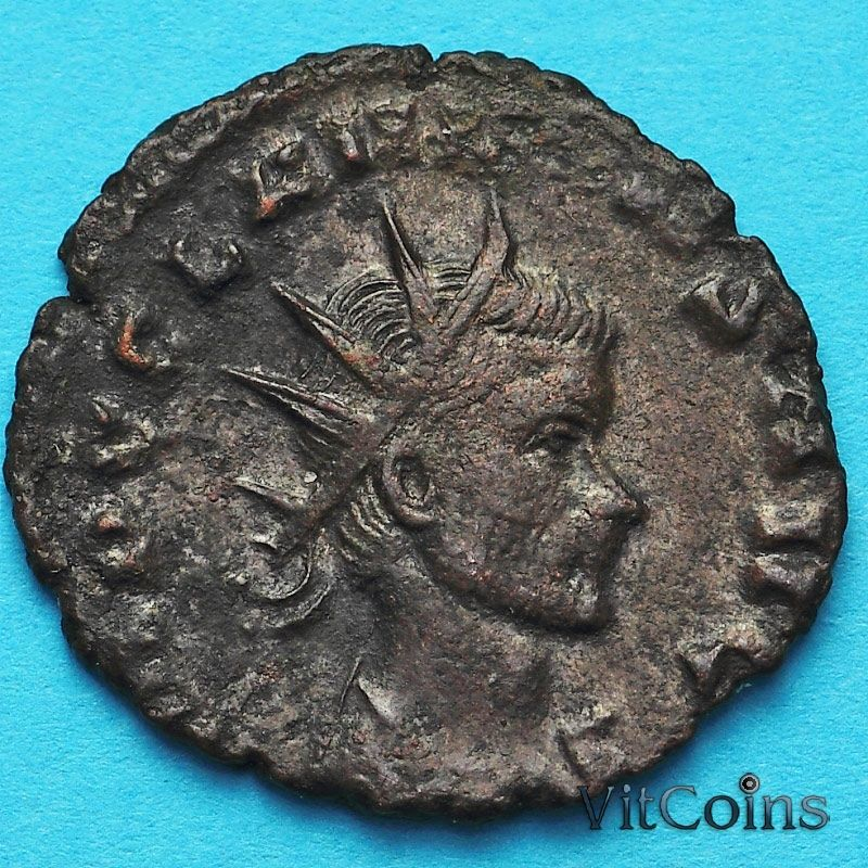 Монета Римская империя, антониниан, Клавдий II Готский 268-270 год. Эквитас. №2