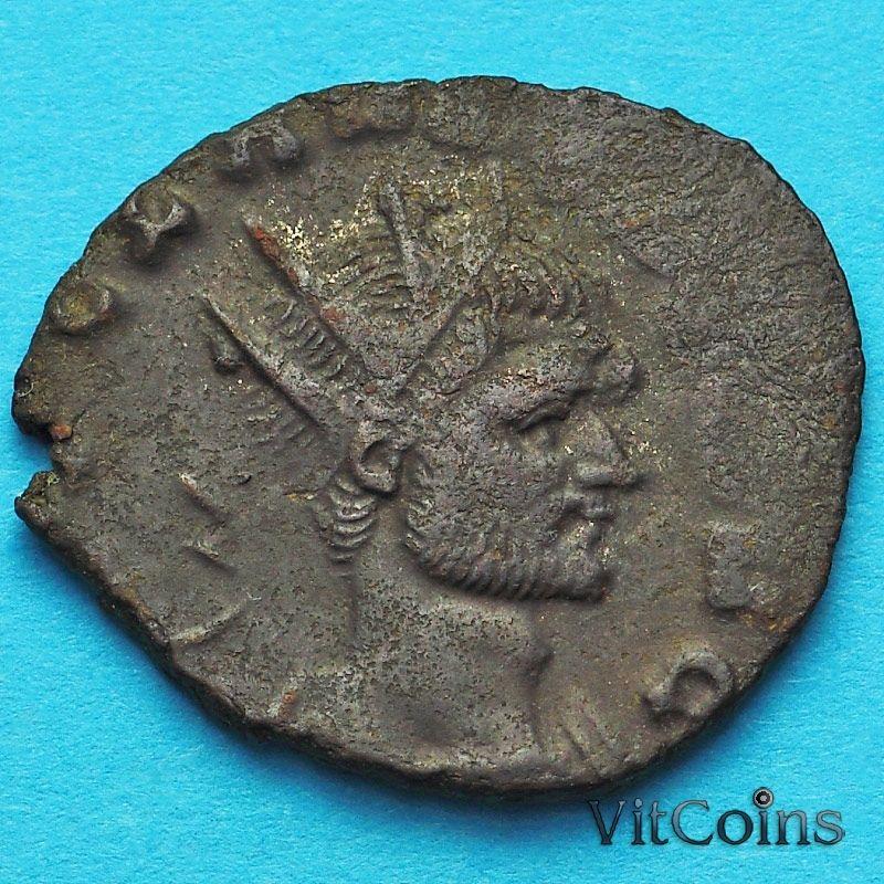 Монета Римская империя, Клавдий II Готский антониниан 268-270 год. Юпитер. №2