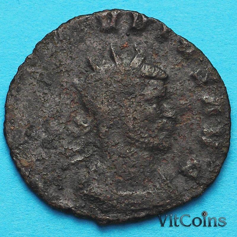 Монета Римская империя, Галлиен,  антониниан, 260-268 год. Салюс. №2