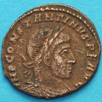 Константин I, Великий 313-319 год. Сол. Римская империя, фоллис №3