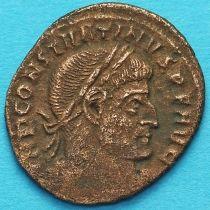 Константин I, Великий 313-319 год. Сол. Римская империя, фоллис №4