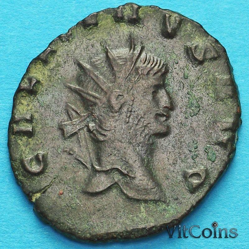 Монета Римская империя, Галлиен,  антониниан, 260-268 год. Пегас.
