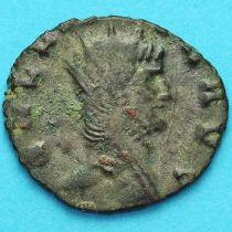 Галлиен,  антониниан, 260-268 год. Римская империя, Фортуна. №2