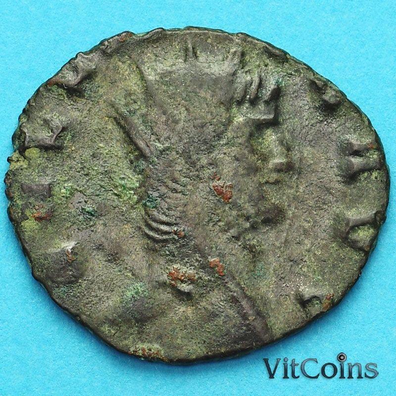 Монета Римская империя, Галлиен,  антониниан, 260-268 год. Фортуна. №2