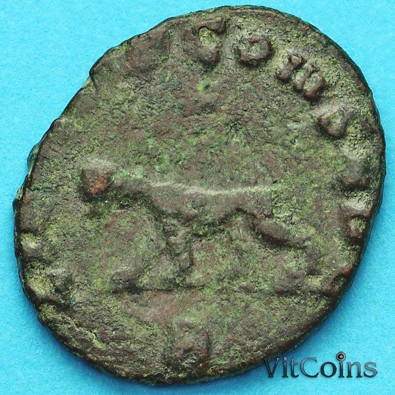 Монета Римская империя, Галлиен,  антониниан, 260-268 год. Пума.