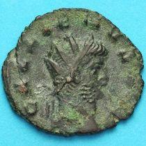 Галлиен,  антониниан, 260-268 год. Римская империя, Виктория.